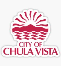 Seal of Chula Vista Sticker