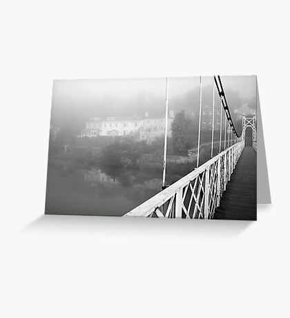 Shakey Bridge Greeting Card