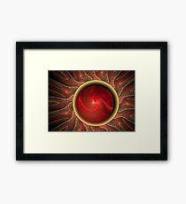 Hal 9000 Meets HR Giger Framed Print