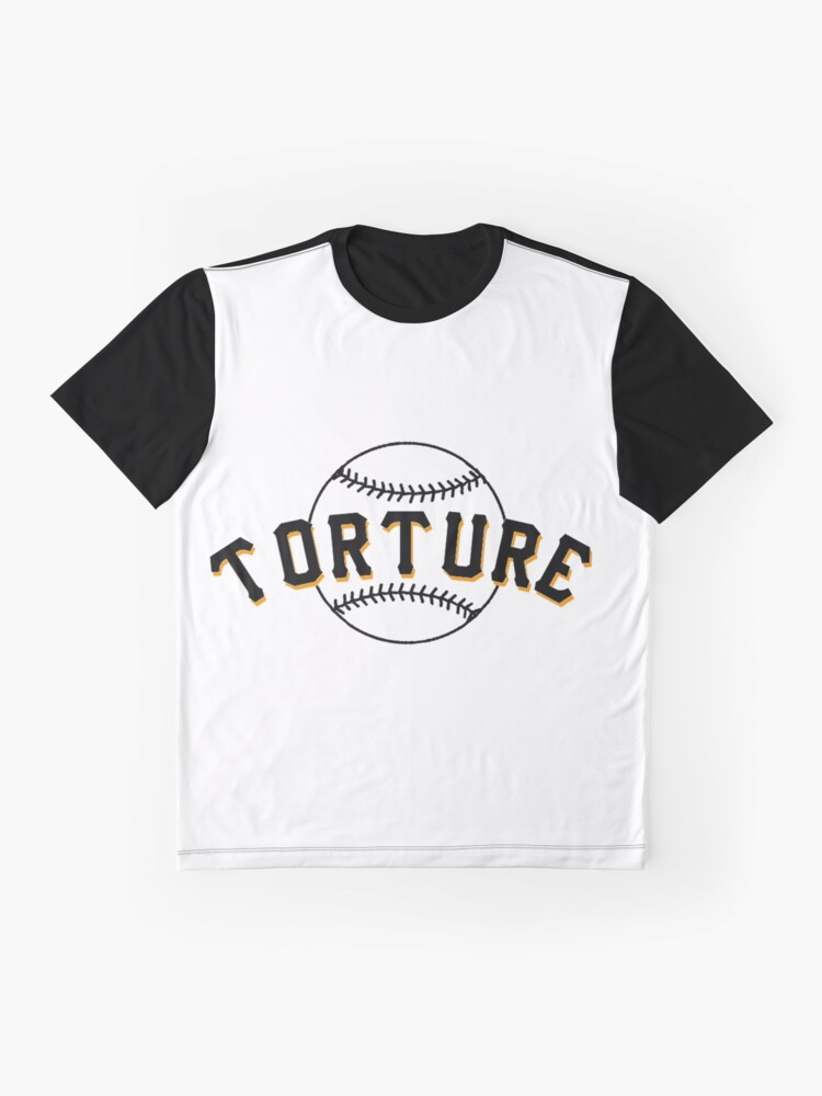 Alternate view of I Love Baseball Torture Fan Club Shirt 28001 Graphic T-Shirt