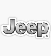 JEEP - Silver Sticker
