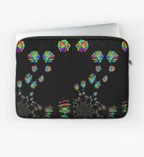 Rubik's Cube Psychedelic Fractal Laptop Sleeve