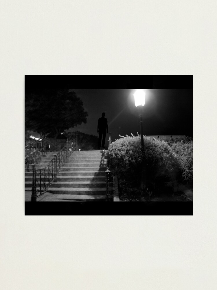 Alternate view of The killer awoke before dawn... Photographic Print