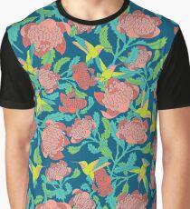 Humming Birds Graphic T-Shirt