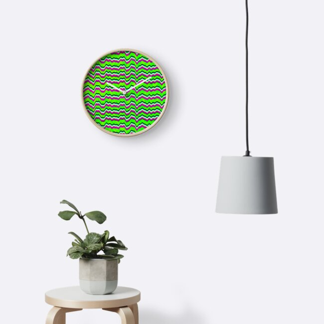 Abstract Graphic Green Sea Pattern Wallpaper by SusurrationStud