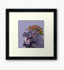 Fabulous Hippopotamus Framed Print