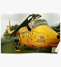rescue helicopter Poster