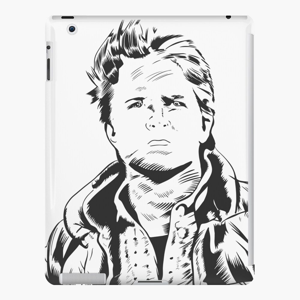 Marty McFly–Back to the Future iPad Snap Case