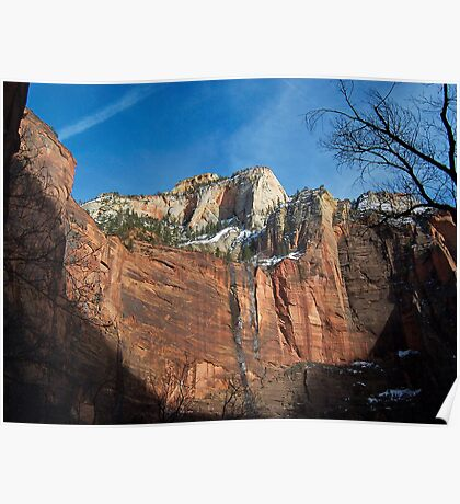 Zion National Park - A View from Zion Canyon Poster
