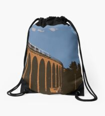 Rossie Island Railway Viaduct Drawstring Bag