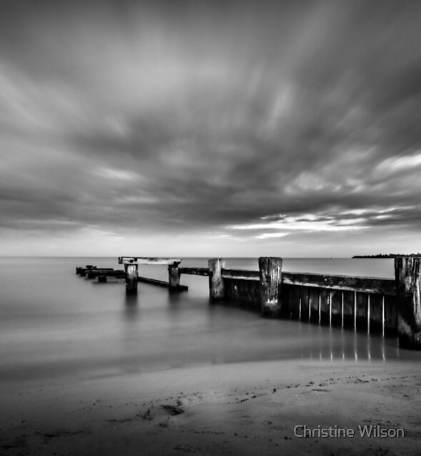 Mentone Beach 2 by Christine Wilson