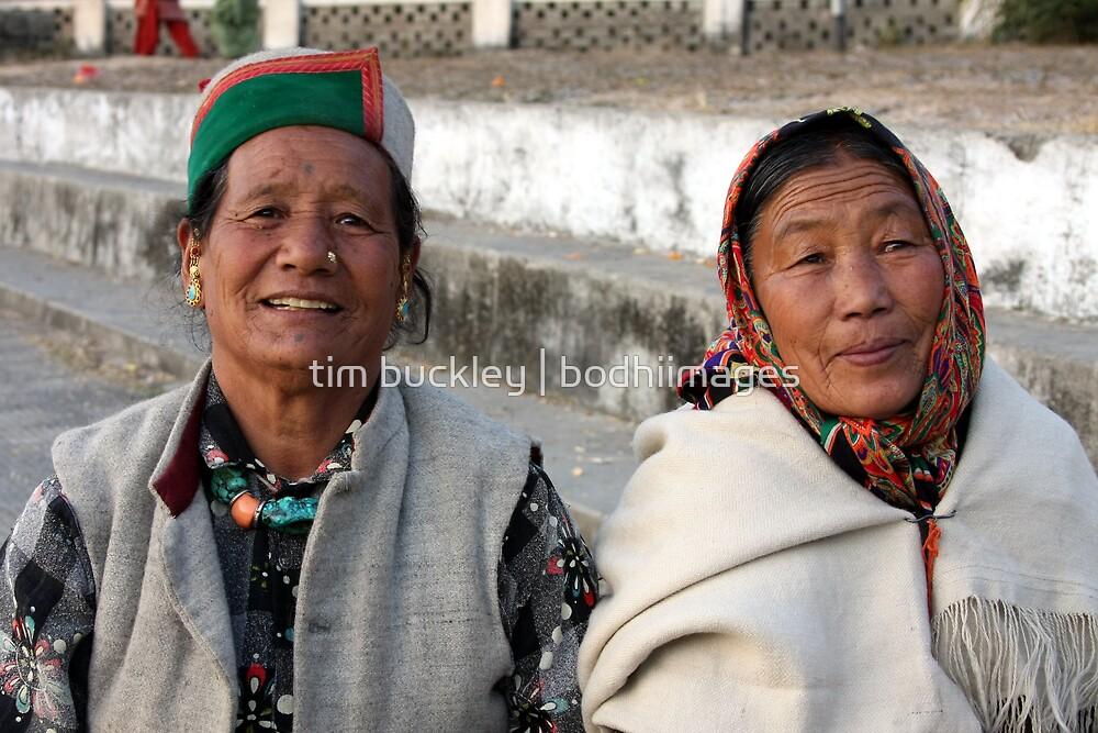 ladakhi women by tim buckley | bodhiimages