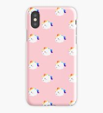 Kawaii rainbow fattycorn pattern iPhone Case/Skin