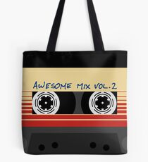 Awesome Mixtape Vol. 2, Tape, Music, Cassette Tote Bag