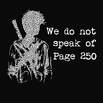 We do not speak of Page 250 by Diardo
