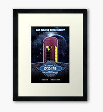 Inspector Spacetime (anotheronetime)  Framed Print
