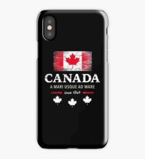 Canada Maple Vancouver Montreal Toronto Maple Leaf iPhone Case/Skin
