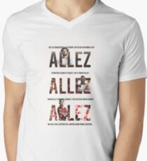 Allez Allez Allez Men's V-Neck T-Shirt