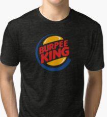 Camiseta de tejido mixto Rey de Burpee