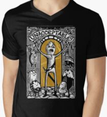 Earl of Lemongrab Unacceptable Men's V-Neck T-Shirt