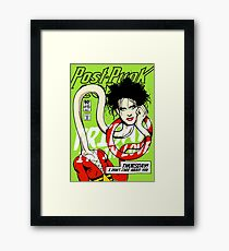 Post-Punk Heroes | Plastic Framed Print