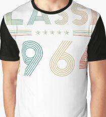 Classic 1964 Vintage Birthday Retro Birthday Gift Graphic T-Shirt