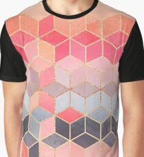 Happy Cubes Graphic T-Shirt