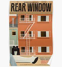 Rear Window alternative movie poster Poster