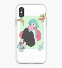 Junkfood Girl iPhone Case