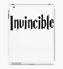 T-shirt Invincible Phrase iPad Case/Skin