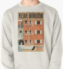 Rear Window alternative movie poster Pullover