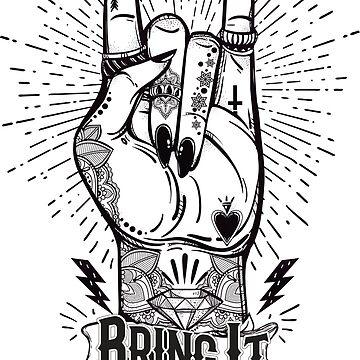 Brint It On !!! by Boulinosaure