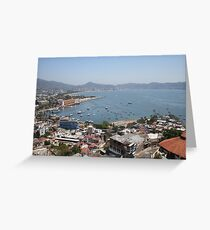 Acapulco from the Casablanca Hotel Greeting Card