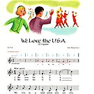 We Love the USA, Independence Day, March John Philip Sousa by coralZ