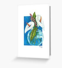 Two coves Greeting Card
