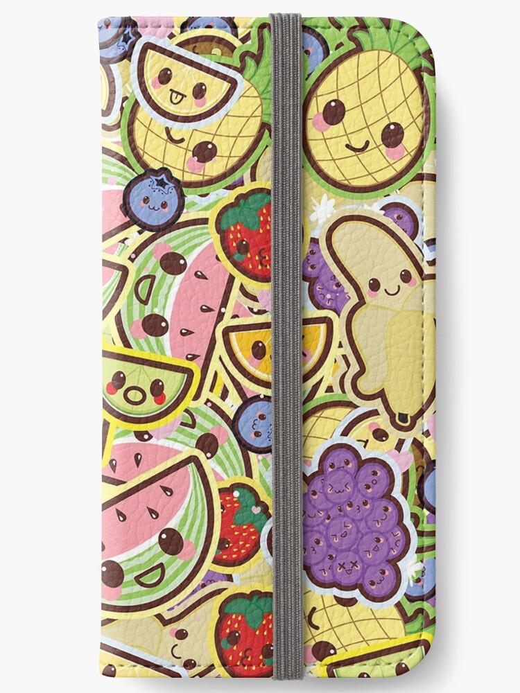 Kawaii Obstsalat Cute Design Wallpaper Iphone Flip Case Von Susurrationstud