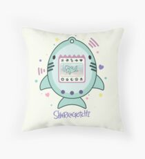 Sharkagotchi: Great White Shark Throw Pillow