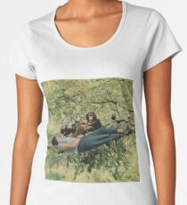Chilling with the relatives Women's Premium T-Shirt