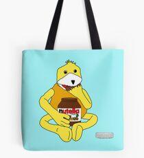 Flat E Nutella Therapy Tote Bag