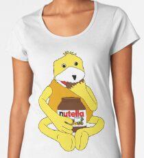 Flat E Nutella Therapy Women's Premium T-Shirt