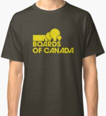 Boards of Canada Logo Yellow Classic T-Shirt