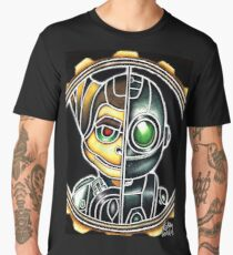 Metallic Ratchet And Clank Men's Premium T-Shirt