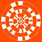 Mandala 40 Simply White by sekodesigns