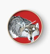 Totem Hokkaido grey wolf (Red) Reloj