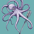 Seff the Singer - The Sea Bed Band - Octopus by ShorelineSally