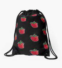 Raspberry Madness! Drawstring Bag
