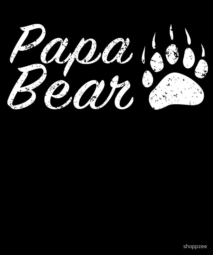 Papa Bear & Mama Bear His & Hers T Shirts by shoppzee