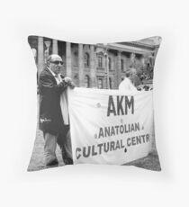 Anatolian Protestors Throw Pillow