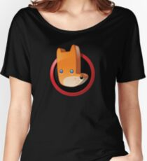 Cute animal icon - fox Women's Relaxed Fit T-Shirt