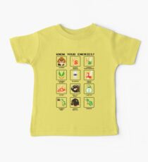 Know Your Enemies - Super Mario Bros Baby Tee